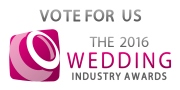 Logo for the 2016 Wedding Industry Awards website