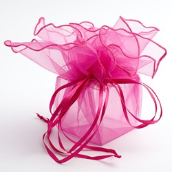 Picture of Organza Drawstring Wraps
