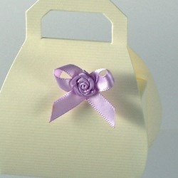 Picture of Satin Bow with Satin Rose
