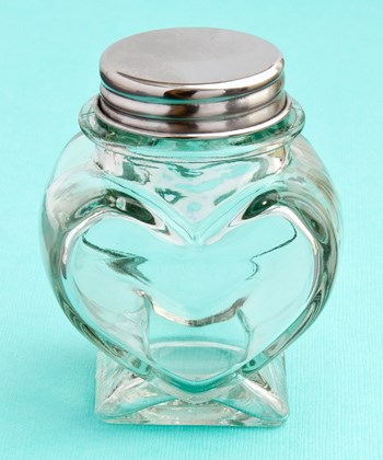 Picture of Mini Heart Shaped Glass Jars