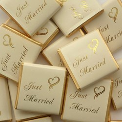Picture of Just Married Chocolates