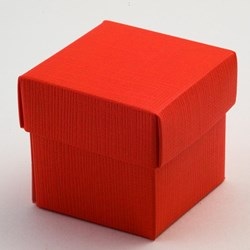 Picture of Red Silk Favour Box