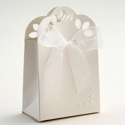 Picture of Matt & Moire Sacchetto Favour Box