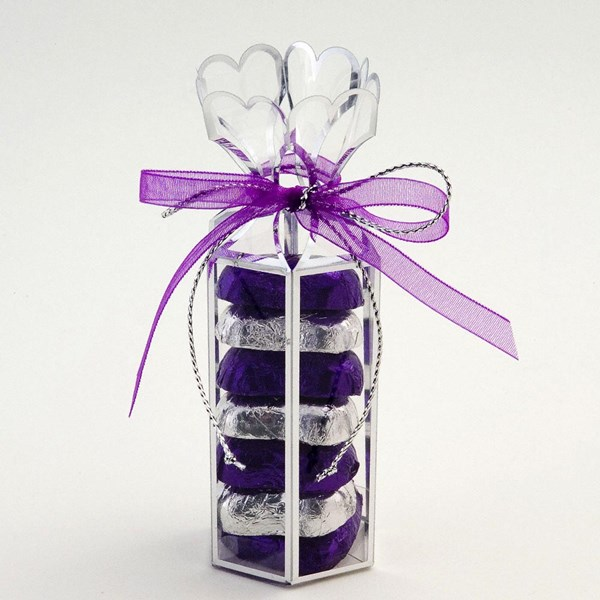 Picture of Clear Hexagonal Favour Box
