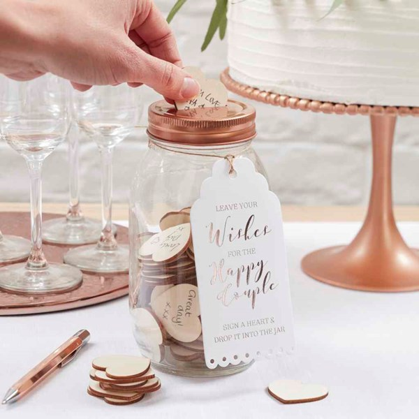 Picture of Wishing Jar Guest Book