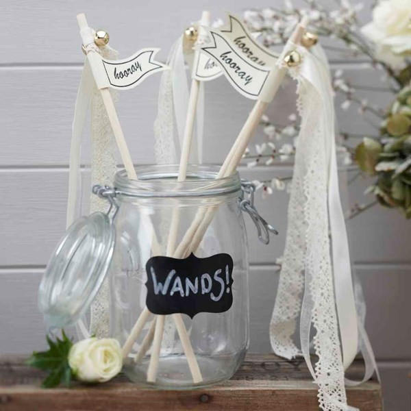 Picture of Wedding Wands - Vintage Affair in Ivory