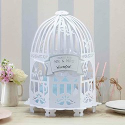 Picture of Wedding Post Box Birdcage