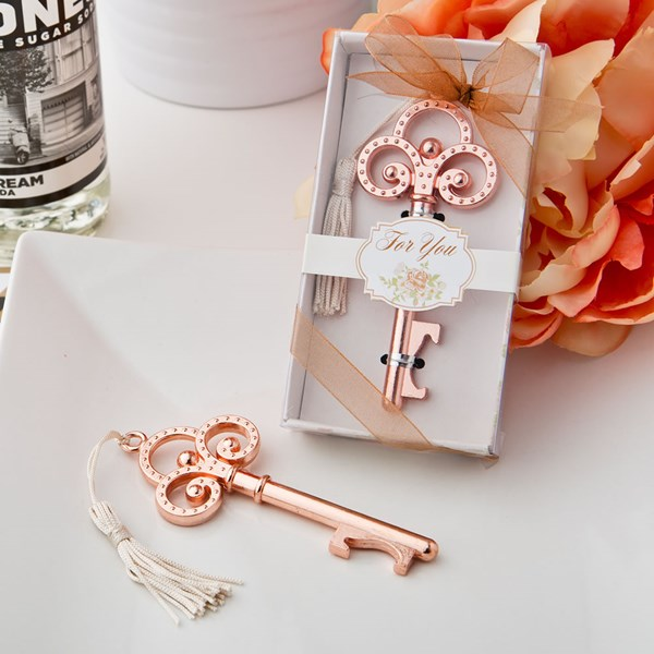 Picture of Rose Gold Vintage Key Bottle Opener