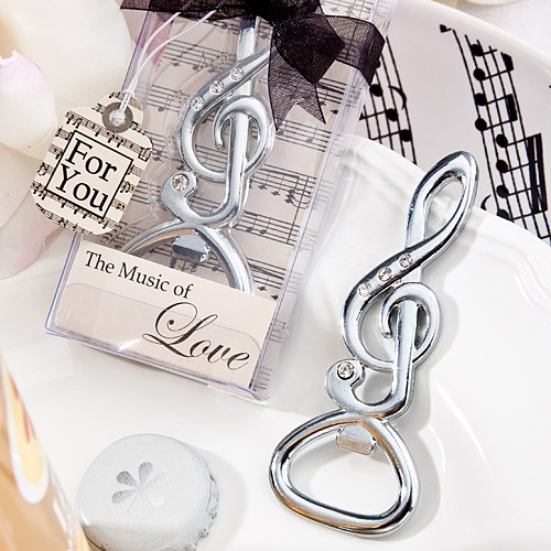 Picture of Musical Note Bottle Opener Favour