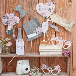 Picture of Photo Booth Props - Rustic Country