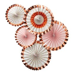 Picture of Fan Decorations - Ditsy Floral