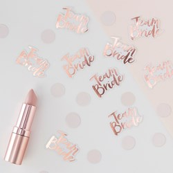 Picture of Team Bride Confetti - Rose Gold