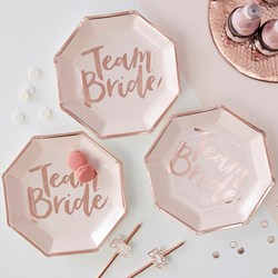 Picture of Paper Plates - Team Bride