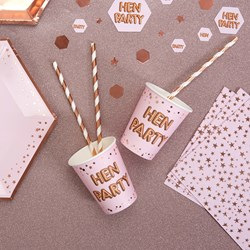 Picture of Paper Cups - HEN PARTY - Glitz & Glamour