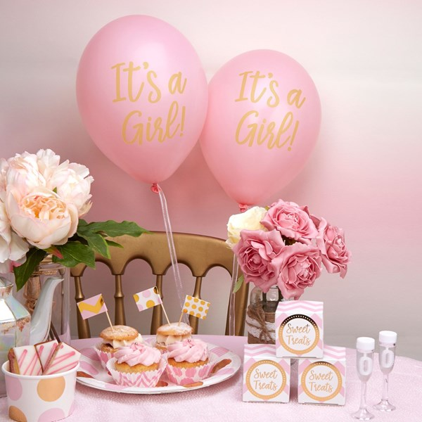 Picture of Pink Balloons - It's A Girl!