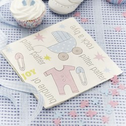 Picture of Paper Napkins - Tiny Feet