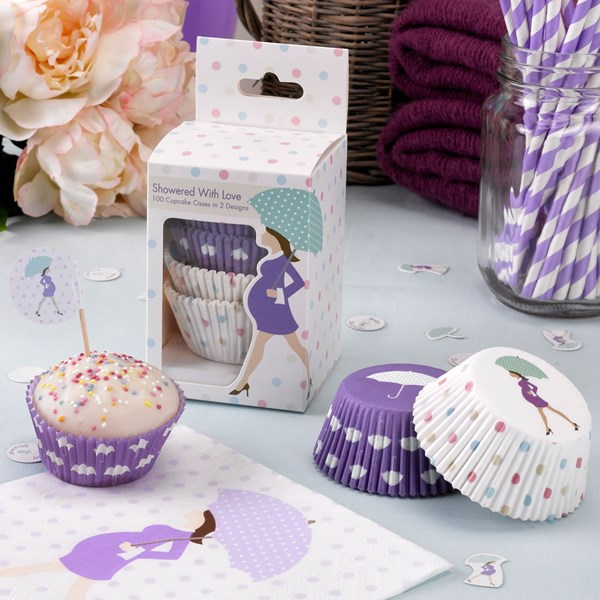Picture of Cup Cake Cases - Showered With Love