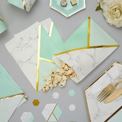 Picture of Sweetie Bag - Colour Block Marble - Mint