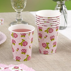 Picture of Paper Cups - Vintage Rose