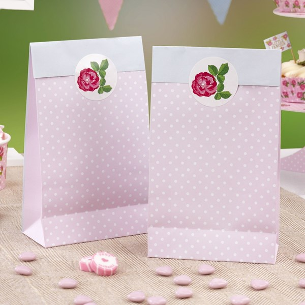 Picture of Party Bags - Vintage Rose