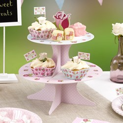 Picture of Cake Stand - Vintage Rose