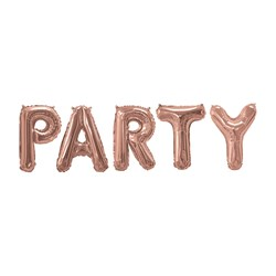 Picture of Foil Balloons - PARTY - Rose Gold