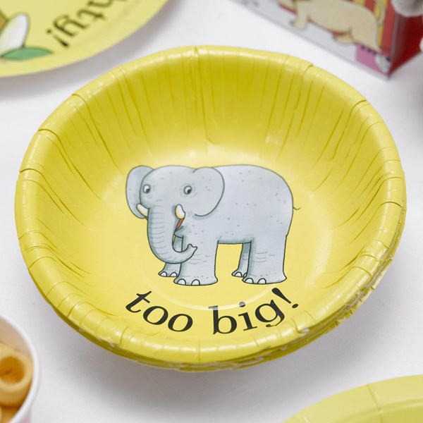 Picture of Paper Bowls - Dear Zoo