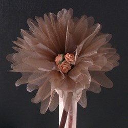 Picture of Crystal Tulle in Brown