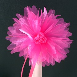 Picture of Crystal Tulle in Fuchsia