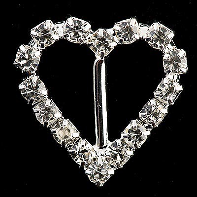 Picture of Diamante Buckle Medium Heart