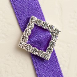 Picture of Diamante Buckle Small Diagonal Square