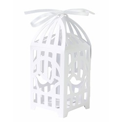 Picture of Bird Cage Favour Boxes White
