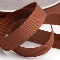 Picture of DIY Grosgrain Ribbon in Brown