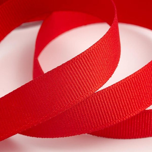 Picture of DIY Grosgrain Ribbon in Red