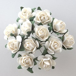 Picture of DIY Tea Roses in White