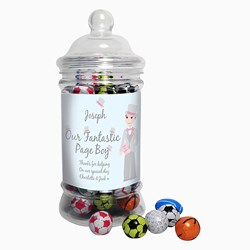 Picture of Fab Pageboy Choc Balls Jar