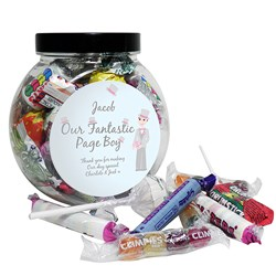 Picture of Fabulous Pageboy Sweet Jar