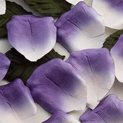 Picture of Paper Rose Petals in Purple