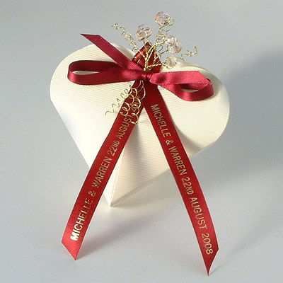 Personalized Wedding Ribbon Wedding Photography
