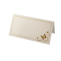 Picture of Place Cards - Elegant Butterfly - Ivory/Gold