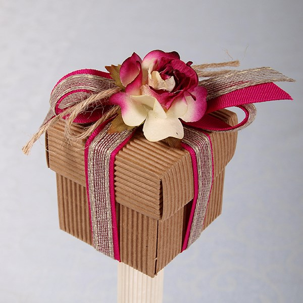 Picture of Ready Made Rustic Rose Box and Lid