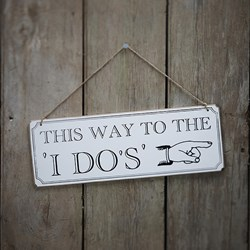 Picture of Reception Signs - I Do's