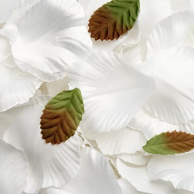 Picture of Satin Petals in White
