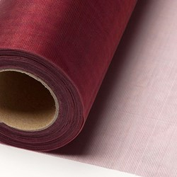 Picture of Sheer Crystal Organza on a roll in Burgundy