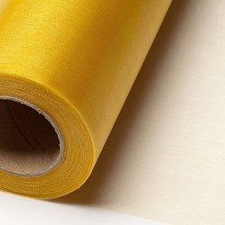 Picture of Sheer Crystal Organza on a roll in Gold