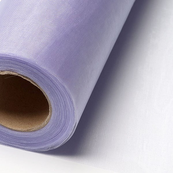 Picture of Sheer Crystal Organza on a roll in Lilac