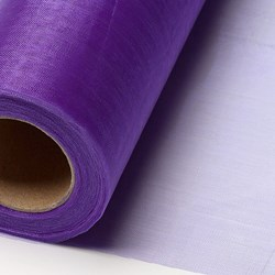Picture of Sheer Crystal Organza on a roll in Purple