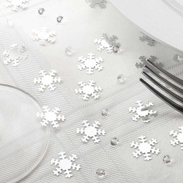 Picture of Shimmering Snowflake - Confetti & Diamonds