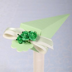 Picture of Silk Pastel Green Cone