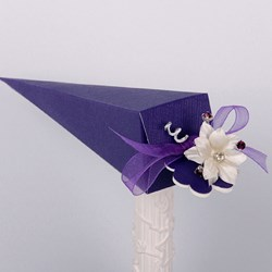 Picture of Silk Purple Design 2 Cone
